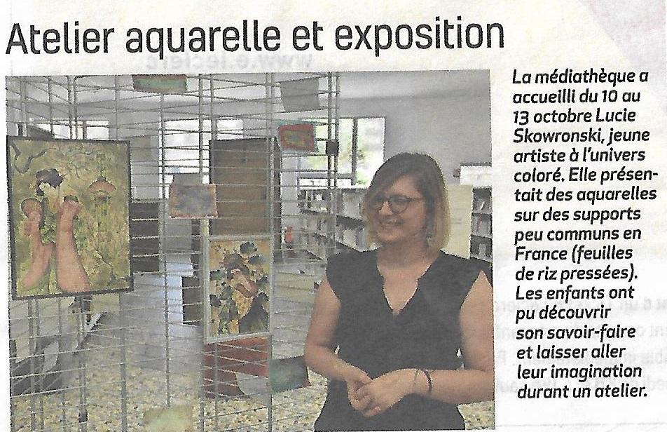Atelier Aquarelle 2018