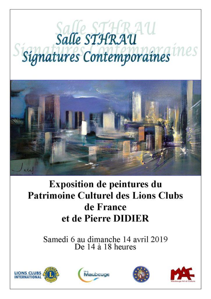 01 - Affiche expo Lions 2019 300