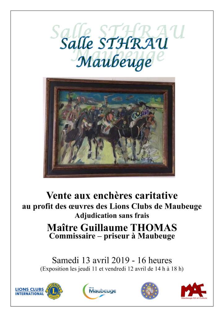 1-Affiche vente caritative peintures 300