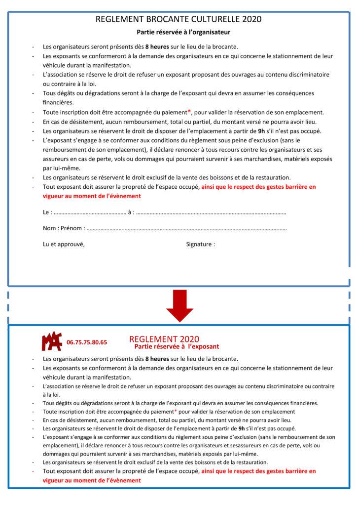 OK-Verso Règlement Brocante corrigé 20 09 2020