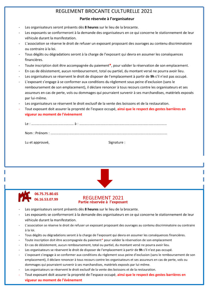 OK -Verso Règlement Brocante corrigé 20 09 2020